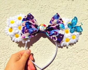 Alice in Wonderland Daisy Minnie Mouse Ears