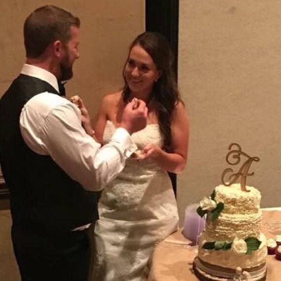 Monogram Cake Topper, Letter Cake Topper, Wedding Cake Topper, Birthday Cake Topper, Custom Cake Topper