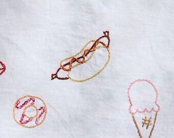 Food embroideries sheet 2 / Sélection de broderies nourriture 2