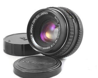 Pentax-M SMC 50mm f/2 MC Vintage Normal Lens Pentax K PK