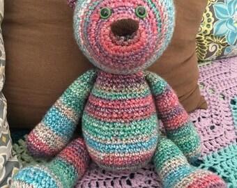 Crochet Bear Plush