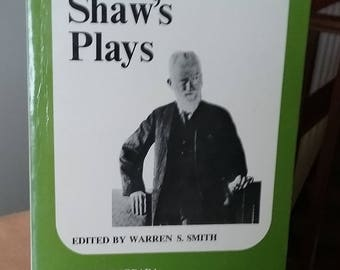 Bernard Shaw's Plays, George Bernard Shaw, Major Barbara, Heartbreak House, Saint Joan, Too True to be Good, 1970 Book of Shaw's Plays