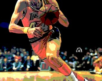 Art Print of Jerry West