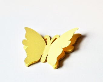 Butterfly Die Cuts - All sizes and colors - Paper Butterflies - Butterfly Cut Outs - Butterfly Decor - Butterflies