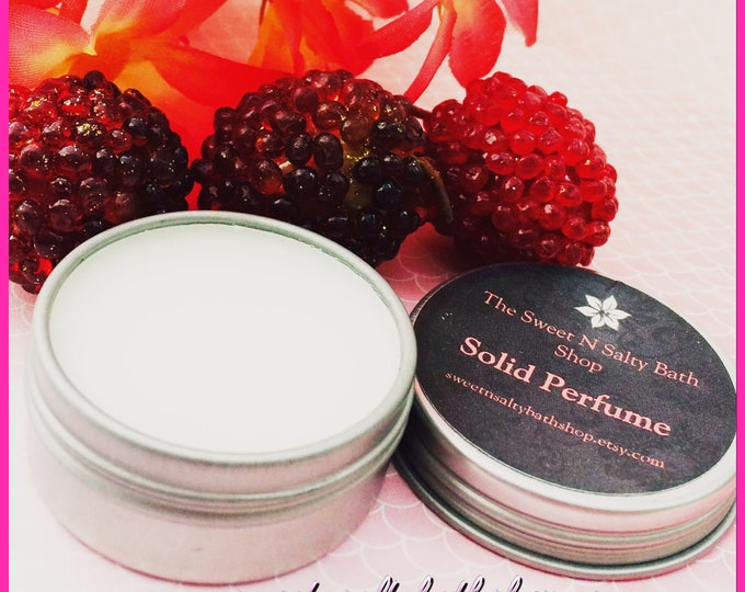 Verbena & Berries Solid Perfume