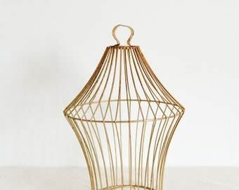 Rusty cage etsy - Cage a oiseaux decorative ...