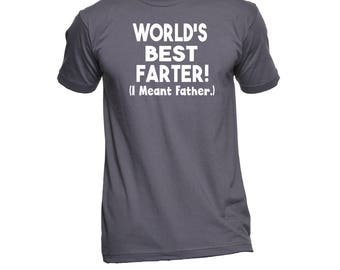 World's Best Father Shirt - Dad Shirt - Father Shirt - Dad TShirt - Shirts For Dad - Gifts for Dad - Funny Dad Shirts - Dad T-Shirt