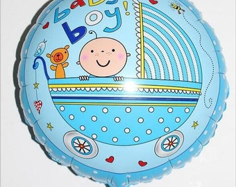 "balloon ""Baby boy"""
