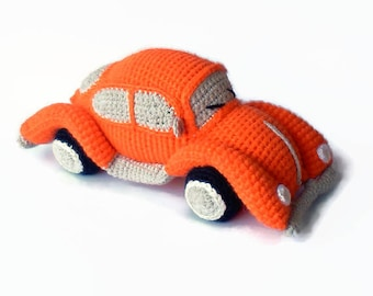 Crochet Bug Car   Beetle Volkswagen  VW Ready for shipping