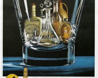 1963 IW Harper Bourbon Ads - Gold Medal Kentucky Straight Bourbon - 1960s Whiskey Ads