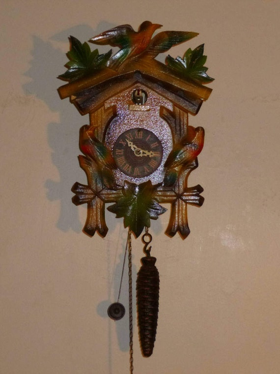 Colorful one day novilty cuckoo clock - Colorful cuckoo clock ...