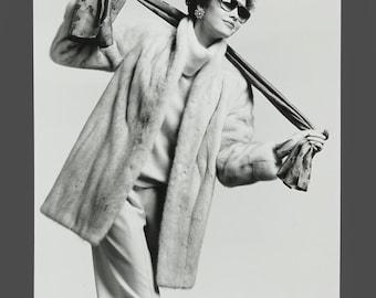 1980s B&W Photo Fashion Photograph Photography Studio Portfolio Grignon Studios IL 9.5 x 13.5