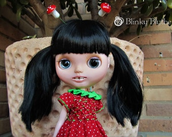 Custom Blythe Dolls For Sale by Miley - Smiling OOAK Custom