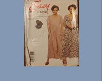 STITCH N SAVE, McCalls, Easy, 7754, women, dress, sewing pattern, sewing, pattern, size A (4-6, 8-10, 12-14)