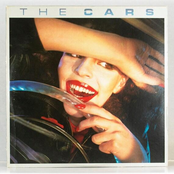 The Cars - Self Titled Album Elektra Asylum Records 1978 Original Vintage Vinyl Record