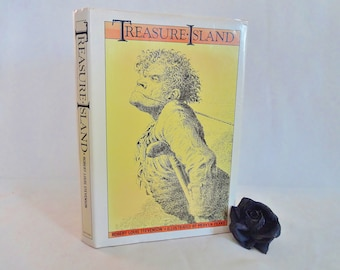 Treasure Island by Robert Louis Stevenson / 1976 Methuen, London / With Many Drawings And A Map by Mervyn Peake / In Very Good Condition