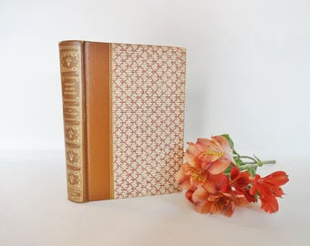 Great Short Stories of Guy de Maupassant Collector's Edn / 1939 Pocket Books Inc / Super Vintage Edition / Lovely Papered Boards & Endpapers