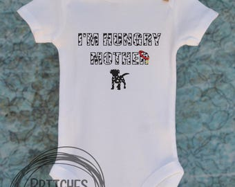 101 Dalmatians Inspired I'm Hungry Mother // Baby Apparel, Toddler Shirts, Trendy Baby Clothes, Cute Baby Clothes, Baby and Toddler Clothes