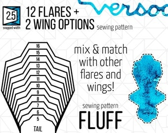 "2.5"" FLUFF Tail 