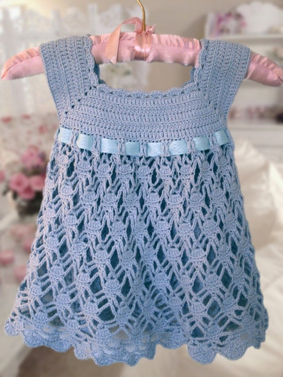 baby crochet dress patterns