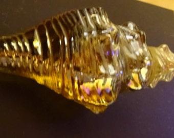 Avon Conch Shell Sea Treasure Charisma Iridescent Decanter 1971-1972