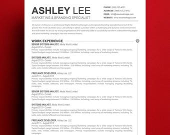 resume template mac apple pages ready - Resume Template Mac