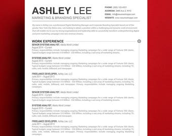 resume template mac apple pages ready - Resume Templates For Mac Pages