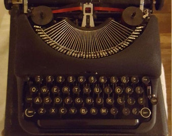 Remington Rand 5 Deluxe Typewriter