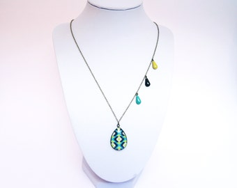 Necklace drop - 96 patterns to choose from-Bronze, gold or silver. Remember to read the description!