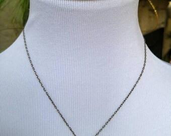 Tiny Locket Necklace NBJ3351 Sterling Silver Locket
