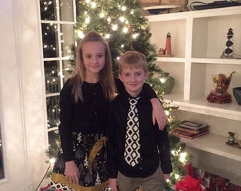 Matching Sister Christmas Outfits