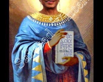 Alice Walker Sainted Writers Secular Prayer Candle