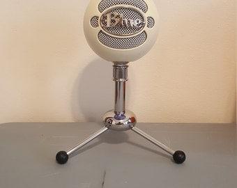Blue USB Snowball microphone