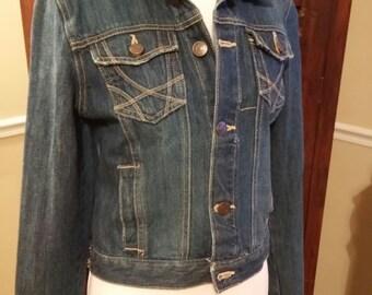 Vintage Aeropostle Jean Jacket Size M