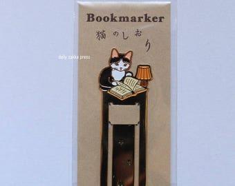 Cat Bookmark | Animal Bookmark | Pottering Cat Bookmark - 4660