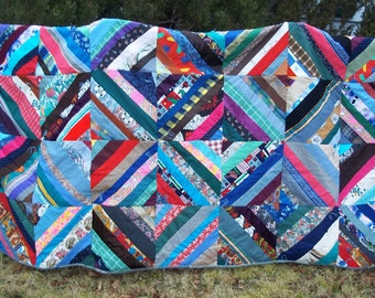 Crazy Quilt, Fabulous Handmade Block, with Istanbul/Moroccan Textile Backing Gorgeous Summer Decor  Circa 1980's