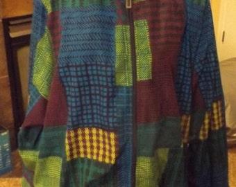 SALE Womens Plus Size Lined Wind Breaker Jacket 18W