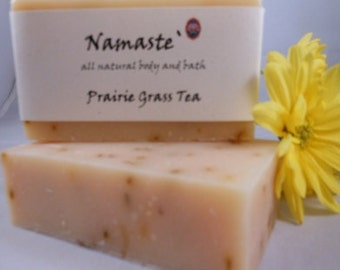 Prairie Grass Tea Handmade Bar Soap