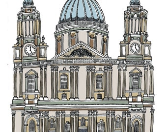 St Paul's Cathedral London Print