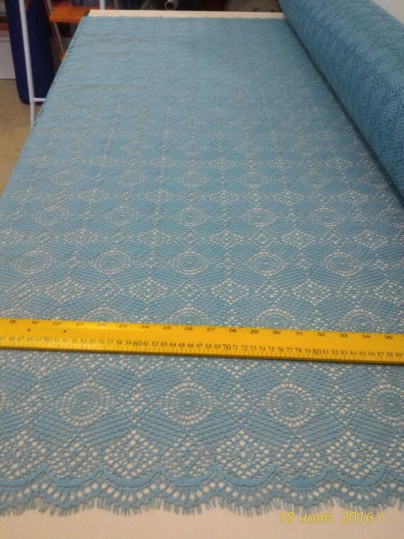 Turkiz lace fabric , France Lace, Embroidery lace, Wedding Lace, Evening dress lace, Lingerie Lace, Alencon Lace
