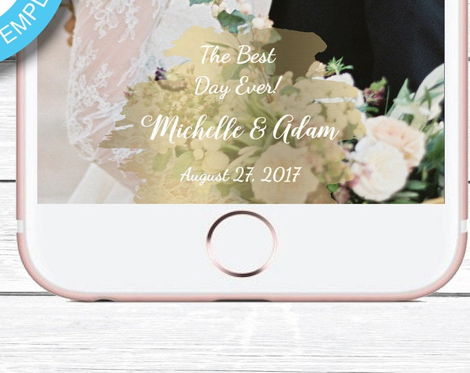 Wedding Snapchat, Wedding Geofilter, Custom Snapchat, Custom Wedding Snapchat, Custom Geofilter, Snapchat Wedding, Geofilter Wedding, Filter