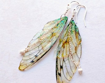 Fairy Wing Earrings Gifts for her Fairy Gifts Mother's Day gifts for Her Gifts under 25