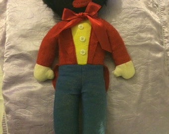 Vintage Felt Golly 1960,s - cuddly toy