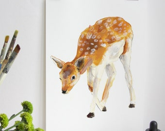 British Countryside - Deer Print