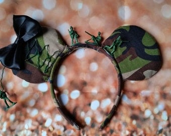 Toy Story Army Soldier Minnie Ears