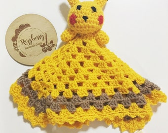 Pikachu Inspired Lovey