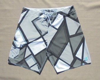 Mens Board Shorts, Size 38, Unlimited NRG