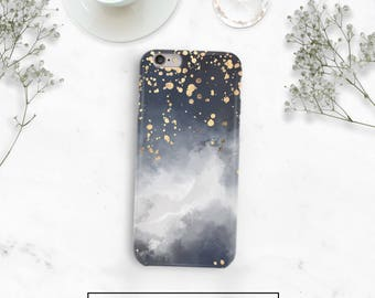 Night Sky Phone Case, Abstract Phone Case, Stars, Starry Night Case, iPhone 7 Plus Case, iPhone 6s, Pixel Phone Case, Galaxy S8 Case