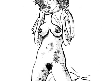 nude coloring page erotic coloring page sexy coloring page adult coloring page
