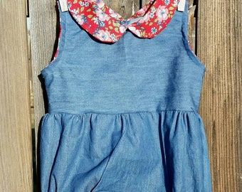 Baby Girl Clothing, Spring Romper Collection 6-12 months, One piece outfit